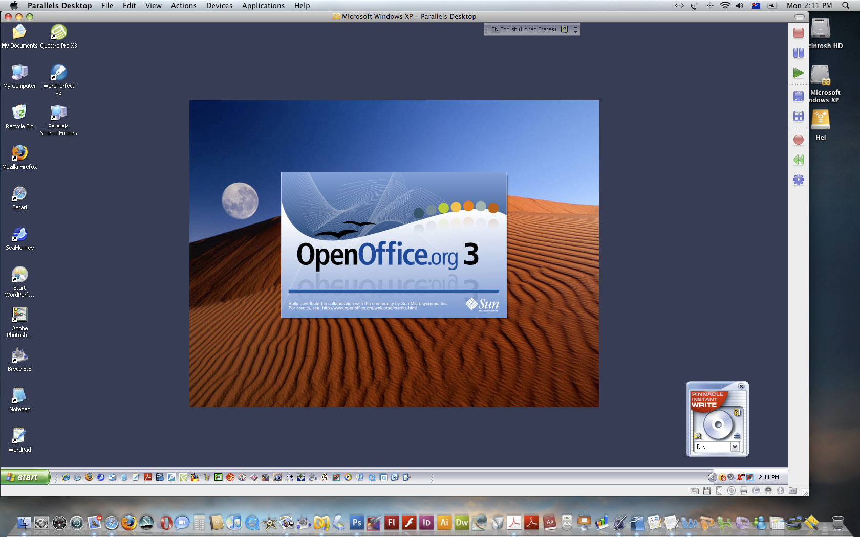 open office mac os x 10.4.11